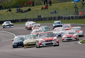 Super Tourers - back on the track where they belong, here at Thruxton on Easter Saturday. This and the following picture are courtesy of Peter Still, PSP Images, a superb photographer and strong supporter of the Super Touring series. For more of Peter's work go to http://psp-images.photoshelter.com/