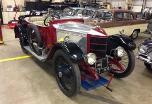 A half-million pound car...