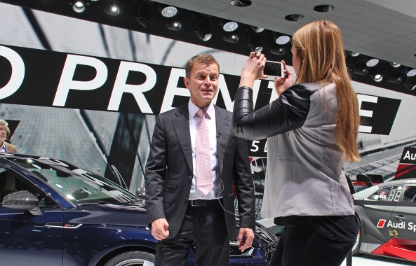 Geneva Motor Show Vlogger