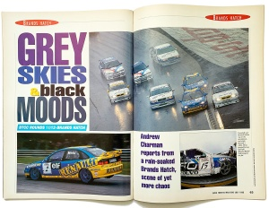 Super Touring opening spread