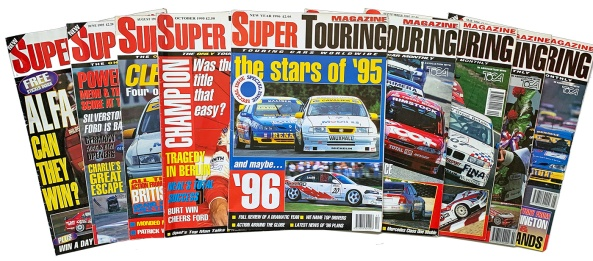 Super Touring covers, 1995