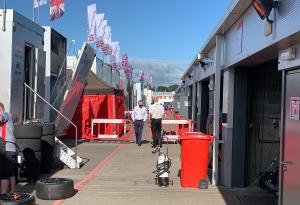 Donington paddock BTCC 2020