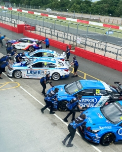 Qualifying restart, Donington BTCC